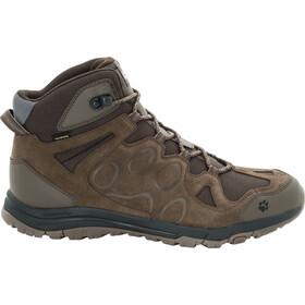 Jack Wolfskin Rocksand Texapore Mid-Cut Schuhe Herren dark wood
